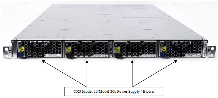 CX3-20 / CX3-20c Power Supplies   and Cooling