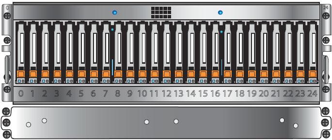 EMC VNX5700 25 x 2.5 inch DPE